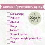 WHAT CAUSES PREMATURE AGING